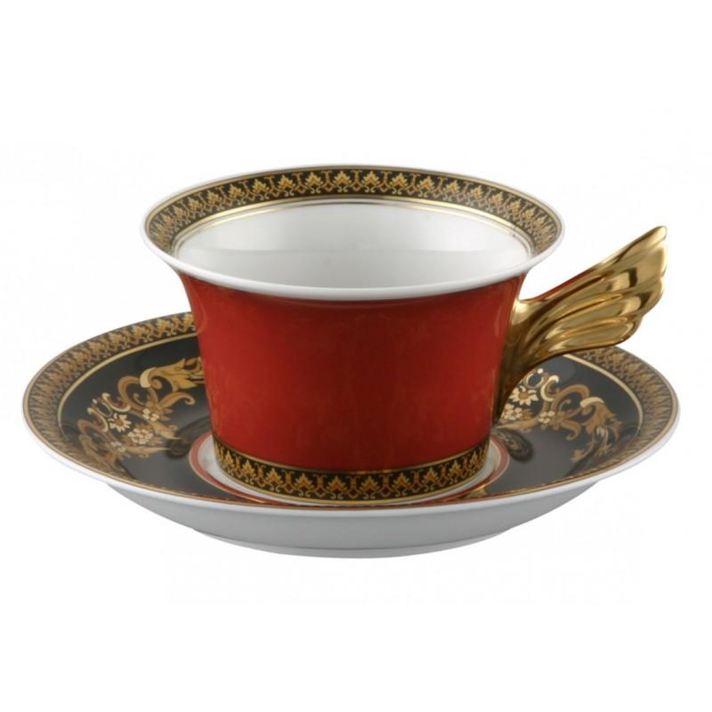 Versace Ikarus Medusa Tazza Tè con piattino