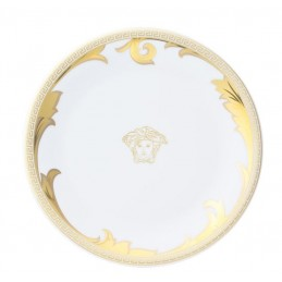 Versace Arabesque Gold Piatto Piano 19 cm