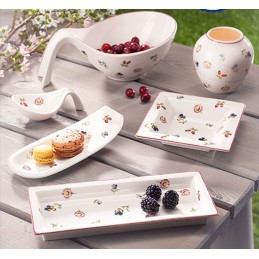 Villeroy & Boch Petite Fleur Gifts Rectangular Bowl 23.6x9.7cm