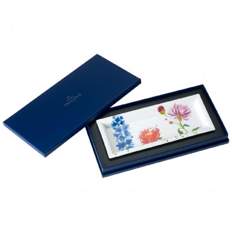 Villeroy & Boch Anmut Flowers Gifts Rectangular Bowl 23,6x9,7cm