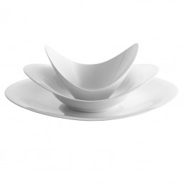 Rosenthal A La Carte Scoop Set Piatti 3 Pz