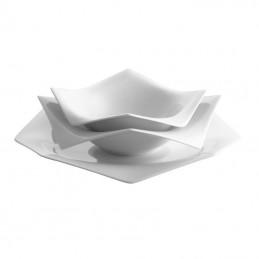 Servizio Piatti Rosenthal A La Carte Origami 18 Pz