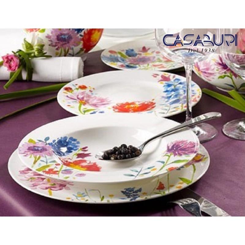 Villeroy & Boch Anmut Flowers Dinnerware Set 36 Pcs