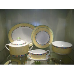 Villeroy & Boch New Twist Alea Limone Dinner Set 18 Pcs