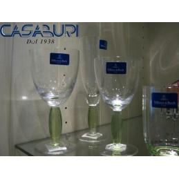 Villeroy & Boch New Cottage Servizio Bicchieri Verde Chiaro 18 Pz