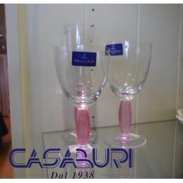 Villeroy & Boch New Cottage Servizio Bicchieri Rosa 18 Pz