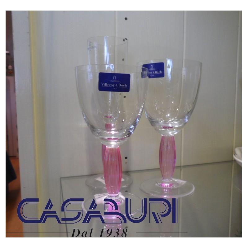 Villeroy & Boch New Cottage Servizio Bicchieri Rosa 36 Pz