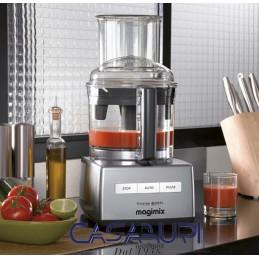 Magimix Robot Multifunzione Cuisine Système 5200 XL Cromato