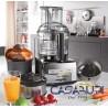 Magimix Robot Multifunzione Cuisine Système 5200 XL Premium Cromato