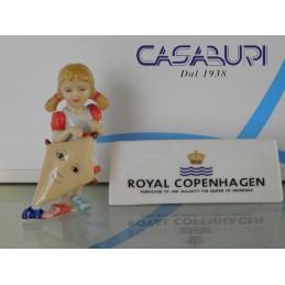 Royal Copenhagen Bimba con Aquilone 1249270