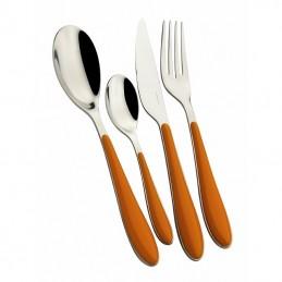 Bugatti Cutlery Gioia 24 Pcs Orange
