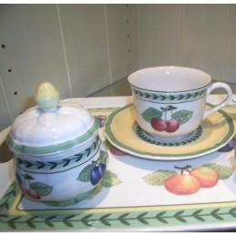 Villeroy & Boch French Garden Fleurence Coffee Set 7 Pcs