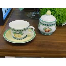 Villeroy & Boch French Garden Fleurence Tea Set 7 Pcs