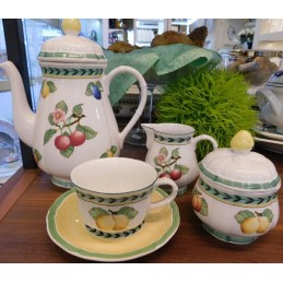 Villeroy & Boch French Garden Fleurence Tea Set 15 Pcs