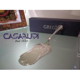 Greggio Argenti Paletta Tartina Inglese Silver Plated con astuccio