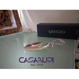 Greggio Argenti Cucchiaio Ostriche Silver Plated