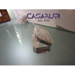 Greggio Argenti Scatolina Rettangolare con cerniera Silver Plated