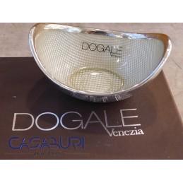 Dogale Venezia Gondola Beige Vetro Decorato a Mano