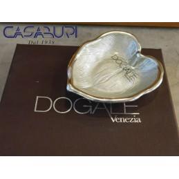 Dogale Venezia Foglia Palma Beige Vetro Decorato a Mano