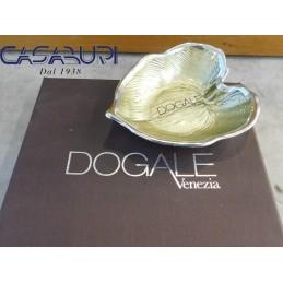 Dogale Venezia Foglia Palma Oro Vetro Decorato a Mano
