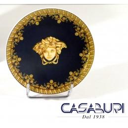 Versace Baroque Nero Piattino 10 cm