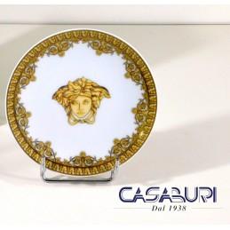 Versace Baroque Bianco Piattino 10 cm