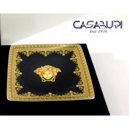 Versace Baroque Nero Coppetta Quadrata 12 cm