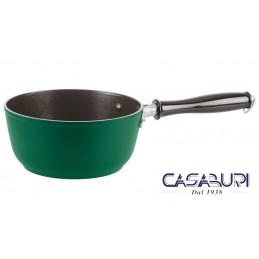 Sambonet Casseruola Alta 1 Manico 18 cm Verde 1965 Vintage Quarzo Nero