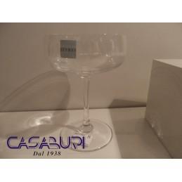 Cristal de Sevres Sologne Set 6 Coppe Champagne Rif. 182818