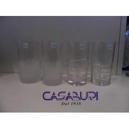 Cristal de Sevres Isba Set 4 Bicchieri Bibita Rif. 55497