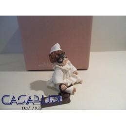 Sibania Zeno Laureato Statuina Manifattura Porcellana Vicentina