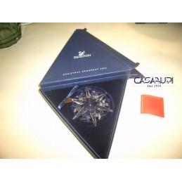 Swarovski Stella Natale 2002 Ornamento Natalizio o Fiocco
