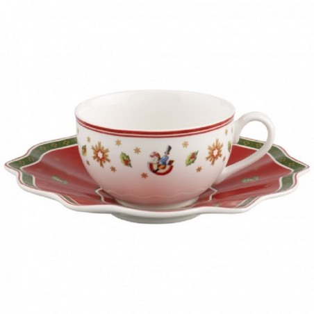 Villeroy & Boch Set 6 Tazze Tè con piattino Toy's Delight