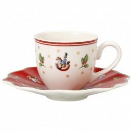 Villeroy & Boch Set 6 Tazze Espresso con piattino Toy's Delight