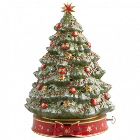 Villeroy & Boch Albero Natale con Orologio a Carillon Toy's Delight