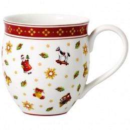 Villeroy & Boch Set 2 Mug Viaggio in slitta Babbo Natale Toy's Delight