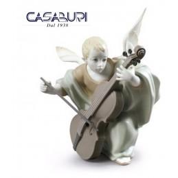 Lladrò Heavenly Cellist 01009186 Figurine