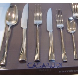 Sambonet Twist Servizio Posate 75 Pz manico cavo orfèvre 52526-76