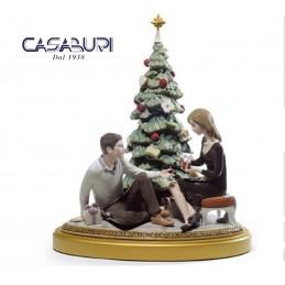 Lladrò A Romantic Christmas 01008665 Figurine Limited Edition