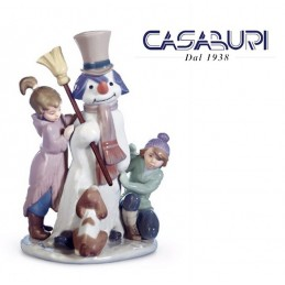 Lladrò The Snowman 01005713 Figurine