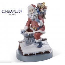Lladrò Down the Chimney 01001931 Figurine Limited Edition