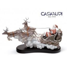 Lladrò Santa's Midnight Ride 01001938 Figurine Limited Edition
