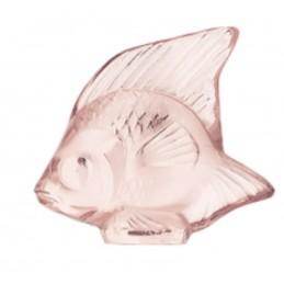 Lalique Pesce Rosa Scultura Cristallo Ref. 3002800