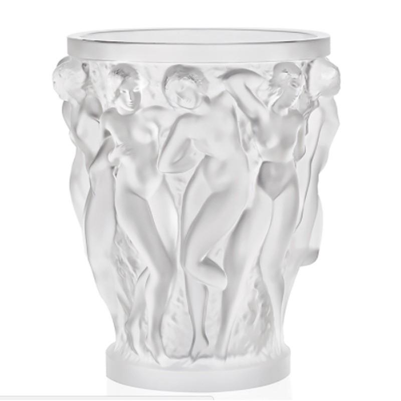 Lalique Vaso Bacchantes Cristallo Chiaro Ref. 1220000