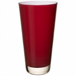 Villeroy & Boch Verso Vase 25 cm Deep Cherry