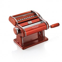 Marcato Atlas 150 Home Made Pasta Machine Red