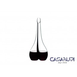 Riedel Decanter Black Tie Smile Clear