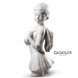 Lladrò My Dance Class (White) 01009301 Figurine