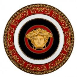 Versace Wall Plate 18 cm Medusa Red
