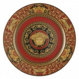 Versace Wall Plate 30 cm Medusa Red
